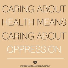 oppression a social determinant of health
