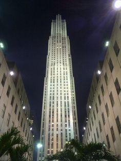 Building #new york #rockefeller