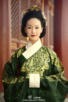 Hanfu: traditional Chinese costume. This one is in Ming dynasty