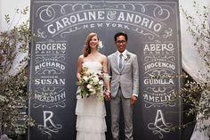 Caroline & Andrio Wedding by Dana Tanamachi
