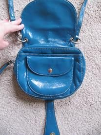 Blue Nine West Purse - Free Shipping!   Price: $10.00