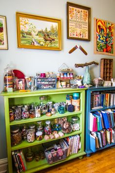 Amy's Vintage Jewel Tone Apartment