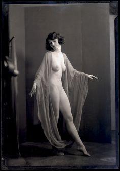 Arnold Genthe 5x7 camera negative photograph of a Denishawn Dancer, 1927