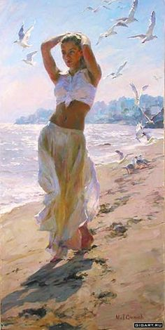 A Walk on the Beach - by Michael and Inessa garmash