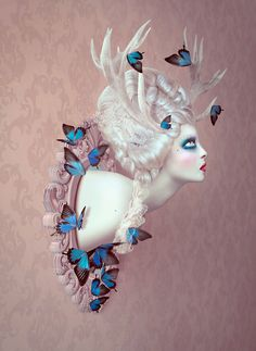 metamorphosis by Natalie Shau, via Behance