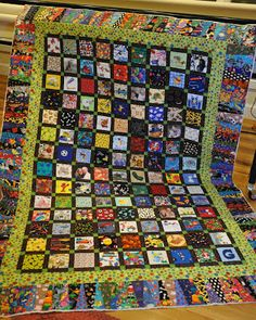 Cute, I Spy Quilt, like the border!
