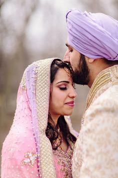18 indian sikh wedding portrait