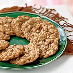 100 Healthy Cookies - I have a big sweet tooth, so any dessert that's supposed to be healthy, I'll give a whirl.  Plus, these look delicious!