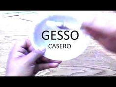 COMO HACER GESSO CASERO (PASTA PARA ALISAR ) - YouTube Decoupage, Cute Diy Projects, Pasta Flexible, Cute Diys, Coca Cola, Mixed Media, Youtube, Collage, Plastering
