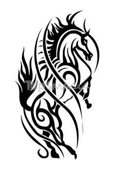Horses Tattoos Design for Woman | 9fb9e72c8cd9dfe0da340da5909ea158bd4ae0eb large…