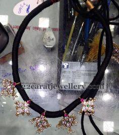 Jewellery Designs: 9 Grams Black Beads Set