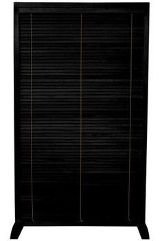 5 ft. Tall Wooden Shutter Freestanding Room Divider   RoomDividers.com