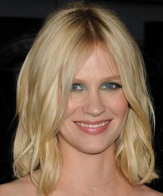 2014 Prom Hairstyles and Makeup Looks: January Jones  #promhairstyles #promhair #hairstyles