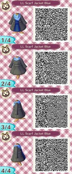 my name is claudia and you can find qr codes for animal crossing here! I also post non qr code related stuff so if you're only here for the qr codes please just blacklist my personal tag. Animal Crossing 3ds, Cabello Animal Crossing, Animal Crossing Qr Codes Clothes, Flag Code, Motif Acnl, Amazing Animals, Animals Beautiful, Ac New Leaf, Happy Home Designer