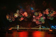 Busan fireworks festival 2010