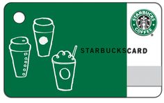 Starbucks Card, perfect valentines day gift for mom.