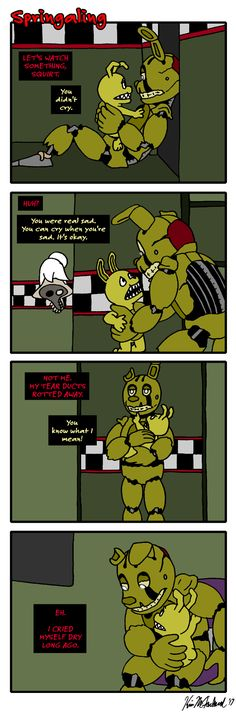 Springaling 275: Back to Stinky Old Springtrap by Negaduck9