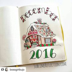 A sourcebook of inspiration. Enjoy! You are welcome to submit by using hashtag #bulletjournalcollection. Send us your Christmas spreads!