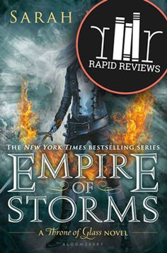 Empire of Storms (Throne of Glass) by Sarah J. Maas - Kingdoms collide in Sarah J. Maas's epic fifth installment in the New York Times bestselling Throne of Glass series. The Assassin, Throne Of Glass Books, Throne Of Glass Series, Ya Books, Good Books, Books To Read, Teen Books, Empire Of Storms, New York Times