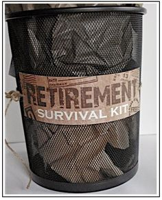 "Creative ""Try""als: Retirement Survival Kit"