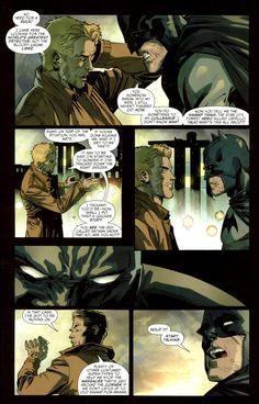 Batman vs John Constantine