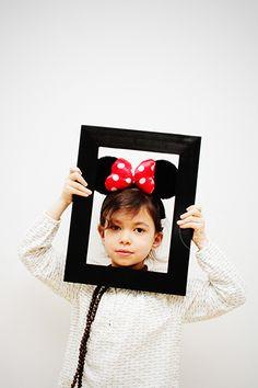 #enfant #fille #girl #photo #photographeenfant #cadre #portrait #déguisement #minnie #shootingenfants