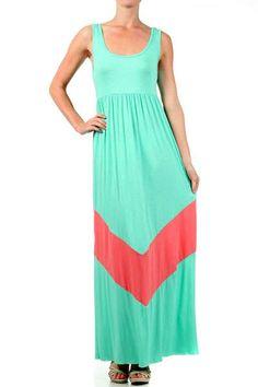 maxenout.com color block maxi dress (10) #cutemaxidresses