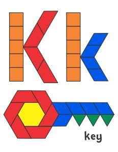Jessica's Pattern Block Mats (Printables)