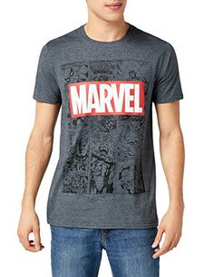 Marvel Call out T-Shirt Uomo