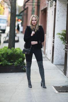 Black + Grey — City Luxe Style www.CityLuxeStyle.com Colleen Babul