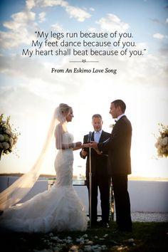 44 Ceremony Readings Youll Love Wedding ReadingsWedding CeremoniesLove Songs