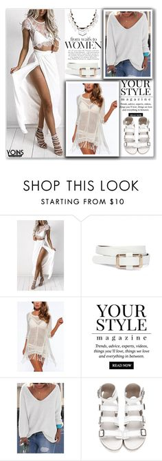 """""""Yoins"""" by meldin ❤ liked on Polyvore featuring Pussycat, yoins and loveyoins"""