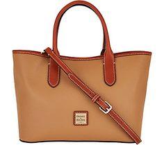 Dooney & Bourke Pebble Leather Brielle Satchel