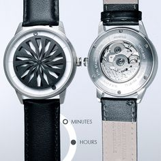 Humism: Automatic Watches that turn Time into Art by Humism — Kickstarter