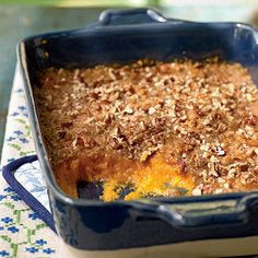 """Best sweet potatoe recipe ever.  I use it for Thanksgiving and a few """"special"""" times throughout the year.  My kids that hate yams...love this!"""