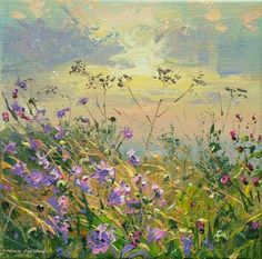 Mark PRESTON-Silhouetted Seedheads, Bonsall Moor