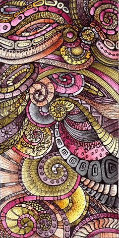 Pink, yellow and grey. Cornucopia3, 19Nov11 by *Artwyrd on deviantART