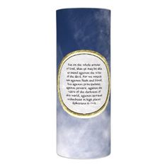 #Ephesians 6:11-12 (Our struggle against evil) Flameless Candle - #candle #candles #special #custom