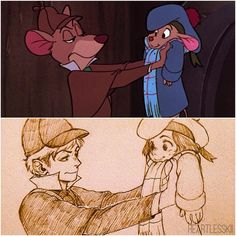 by Heartlesskii Humanized Basil the Mouse Detective