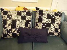 DIY Big Bow Pillow DIY Home DIY Crafts