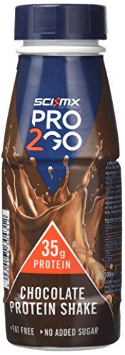 From 12.22 Sci-mx Nutrition Pro 2go Protien Chocolate Shake Rtd 500 Ml (pack Of 6)