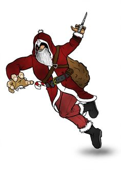 Assassin's creed - Santa Claus by Latyprod.deviantart.com