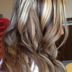 Partial Blonde Highlights Seemly To Anyone Who Wants A Comfortable Appearance