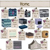 """Your home will be functional & stylish with Thirty-One's """"For Your Home"""" Selections! www.mythirtyone.com/Carrie31Bags #carrie31bags #thirtyonegifts #bags #baskets #accessories #organize"""