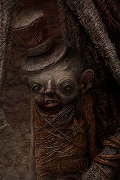 Love this little guy, Like the added touch of the Top Hat in this one ! by Anton Semenov