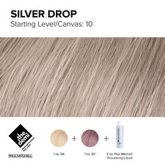 Drop what you're doing! This week's color has a silver lining. ⛅️ #FaveFormulaFridays #IHeartPM #PaulMitchell