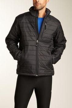 Insulated Zip Front Jacket
