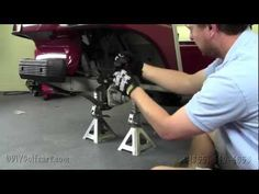 Club Car DS  Spindle Lift Kit | How To Install Video | Golf Cart Lift Kit