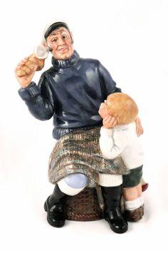"Royal Doulton Sea Characters Figurine Song of the Sea HN 2729 7.25""  W.K Harper #RoyalDoulton"