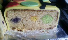 Inside spotty cake! @Samantha Gilkes